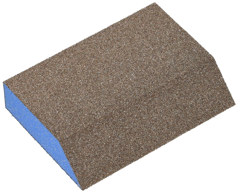 24 Pack Webb Abrasives 500027 Large Angle Block Sanding Sponges 3 x 5 x 1 Medium Grit