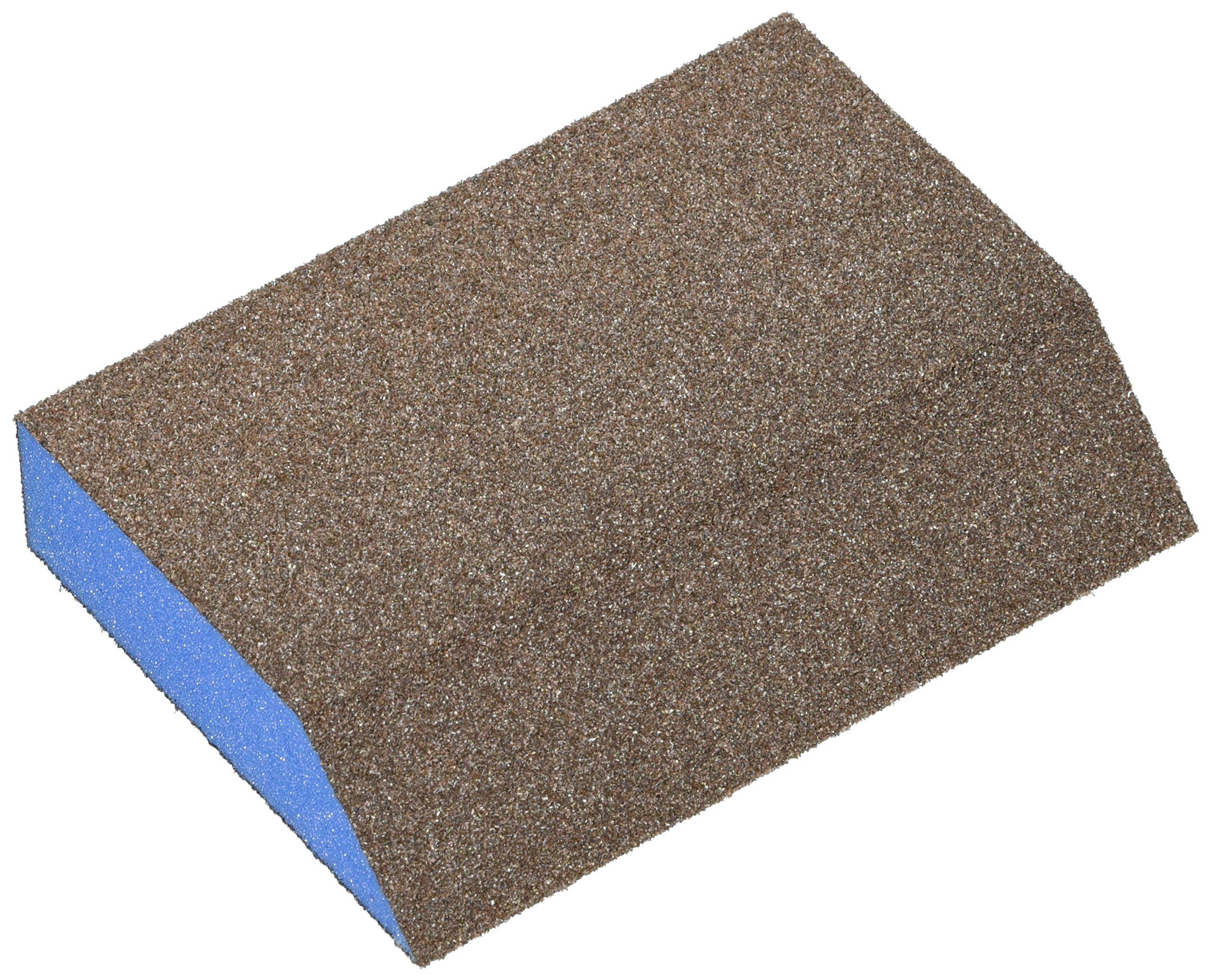 Webb Abrasives 500027 Large Angle Block Sanding Sponges (24 Pack), Medium Grit, 3'' x 5'' x 1''