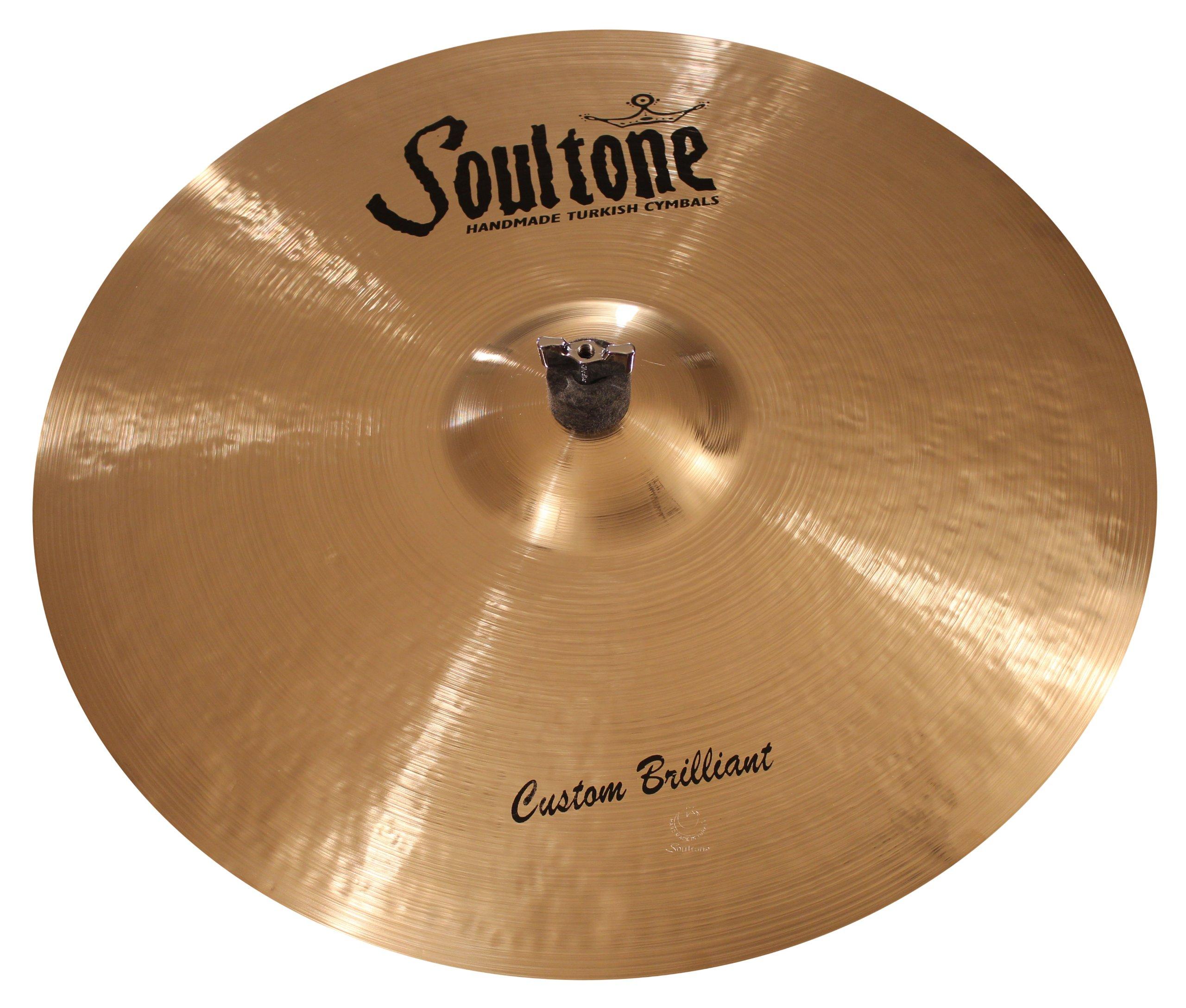 Soultone Cymbals CBR-BBRID19 - 19'' Custom Brilliant Big Bell Ride