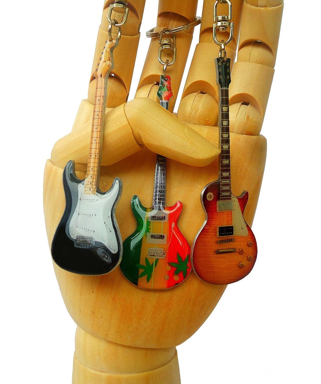 Porte-cl/és forme guitare Gibson acoustique sunburst