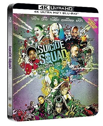 Suicide Squad Ltd Steelbook Blu-Ray 4K Ultra Hd+Blu-Ray Italia Blu-ray: Amazon.es: Cine y Series TV