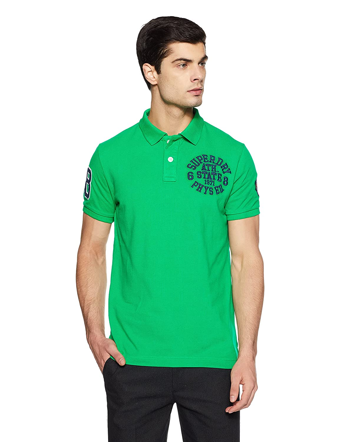 Superdry Polo M11011TQF1 OO2 Classic S/S SUPERST: Amazon.es: Ropa ...