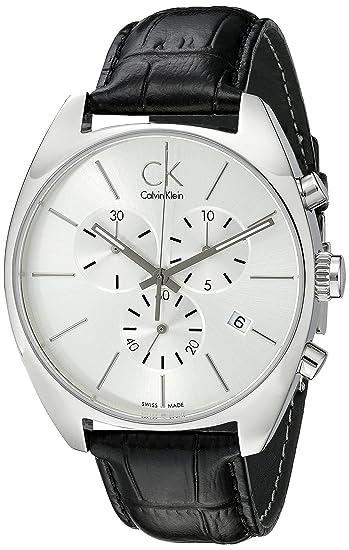 d9ffb0688f64a6 Calvin Klein K2F27120 Orologio Cronografo, Uomo: Calvin Klein: Amazon.it:  Orologi