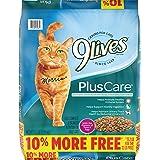 9Lives Plus Care Dry Cat Food, 13.2 lb