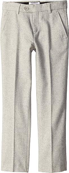 Isaac Mizrahi Big Boys Slim Big Boys Wool-Blend Tweed Pant