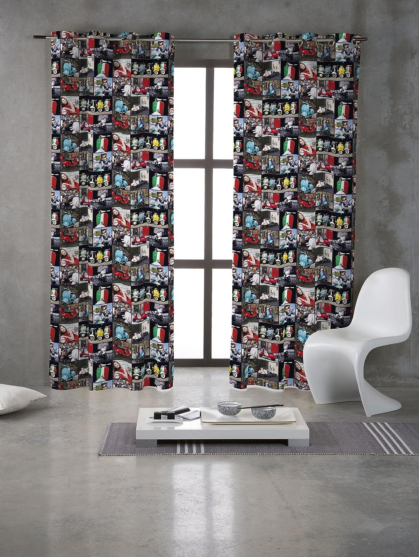 Prestige Fashion UK Ltd Funda tela vintage Vespas/rodillo cojín cortina de algodón para tapicería - por metro: Amazon.es: Hogar