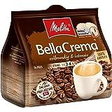 Melitta Gemahlener Röstkaffee in Kaffeepads, 16 Pads, 100 % Arabica, vollmundig und intensiv, mittlerer Röstgrad, Stärke 3 bis 4, BellaCrema