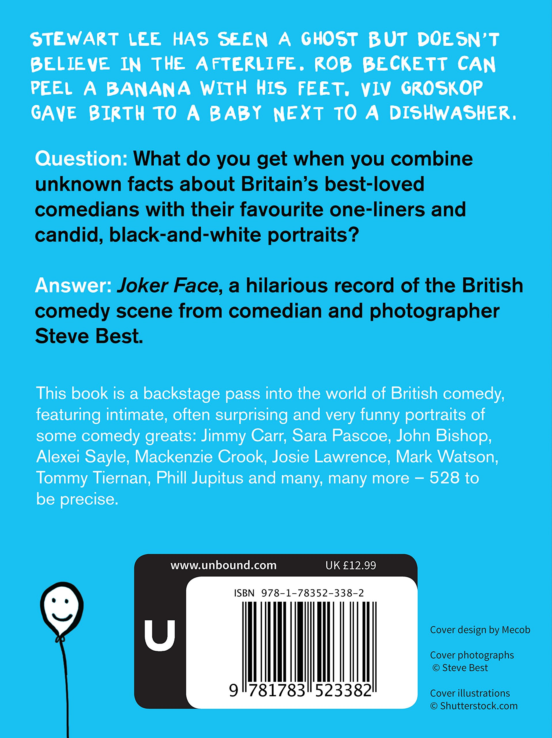 Joker face over 450 comedians share their best one liners amazon joker face over 450 comedians share their best one liners amazon steve best jimmy carr rob delaney stewart lee john bishop mackenzie crook ccuart Image collections