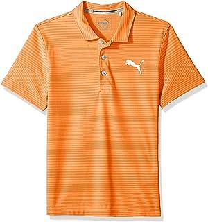 c83c020527df PUMA Golf Boy s 2018 Turf Stripe Polo  Amazon.in  Sports