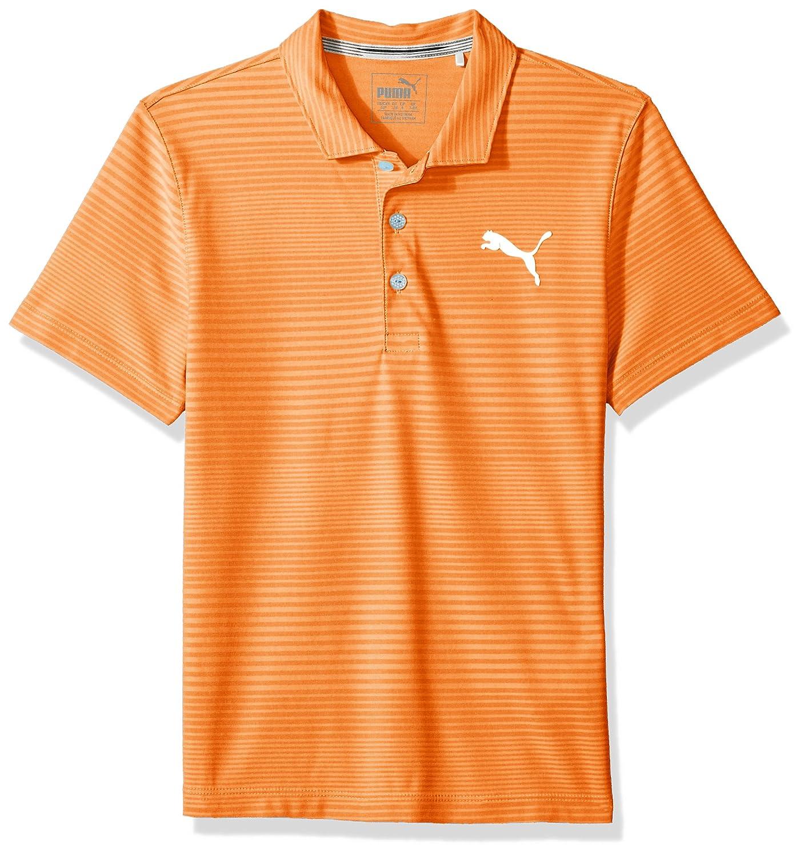 Puma ゴルフ ティーン男の子用 2018 ボーイズ Pounce Astonポロ B074GN1V6M Medium|バイブラントオレンジ(Vibrant Orange) バイブラントオレンジ(Vibrant Orange) Medium
