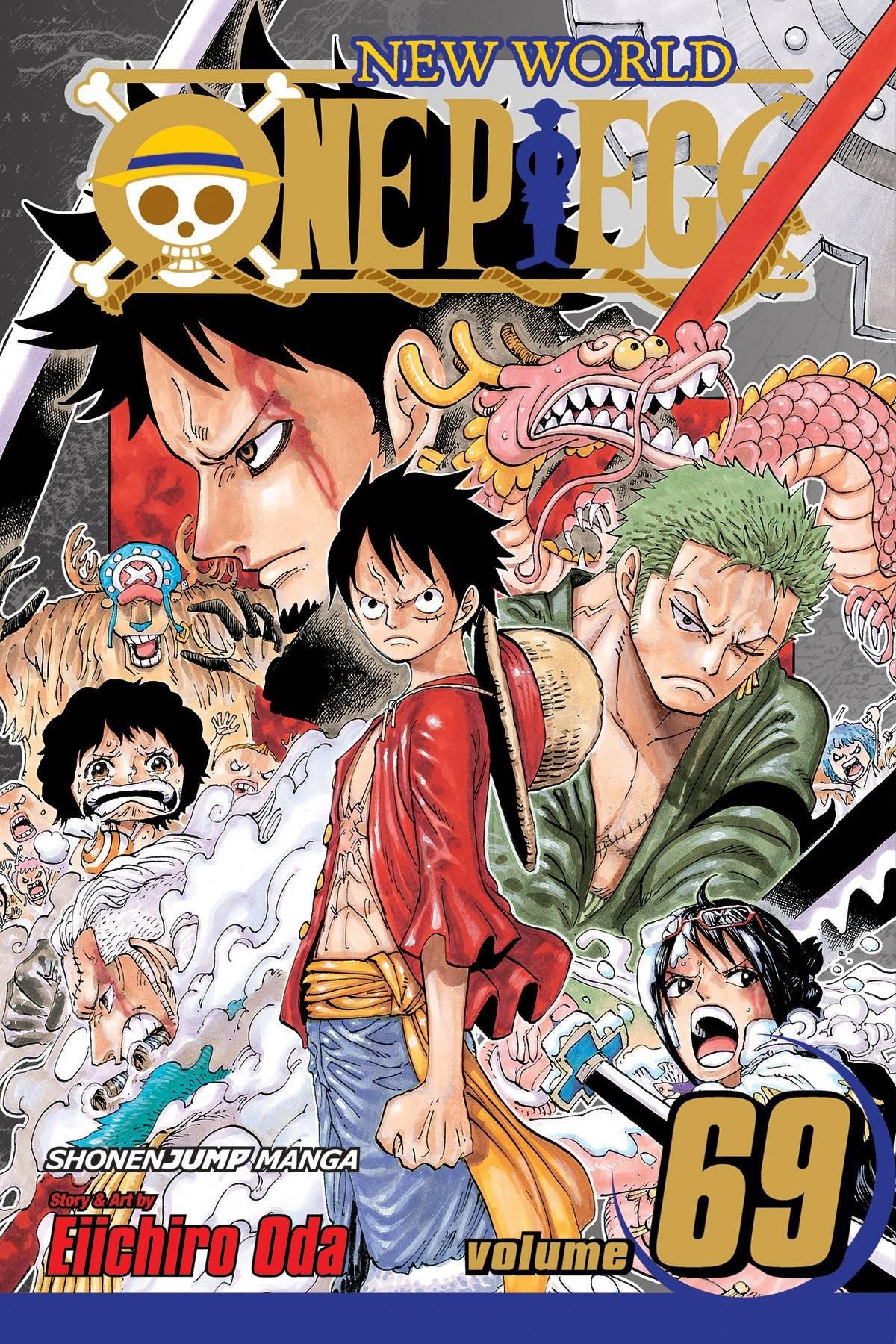 Amazon One Piece Vol 69 9781421561431 Eiichiro Oda Books