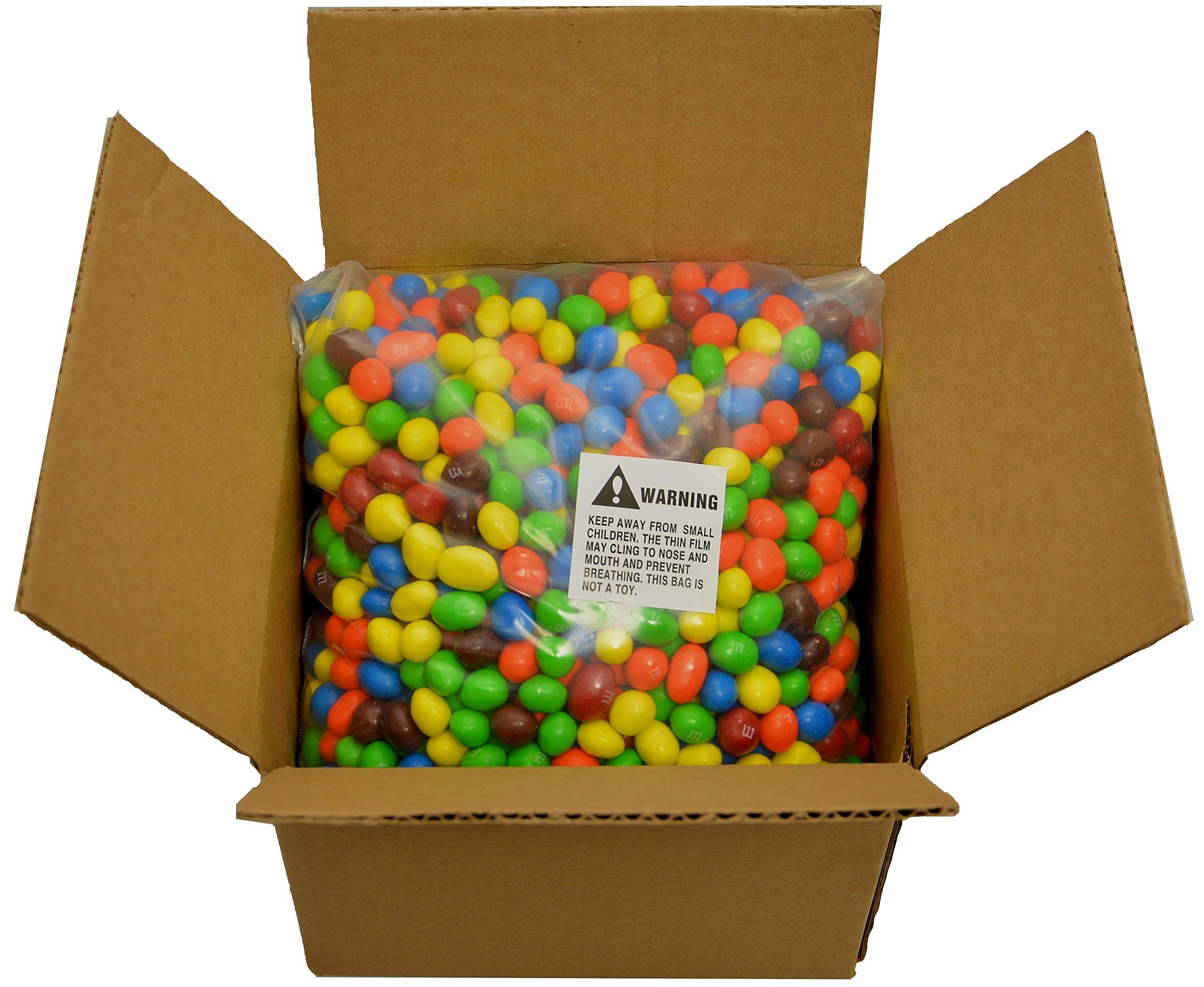 M&M's Peanut Bulk Wholesale - 10 Full Pounds by RiverFinn