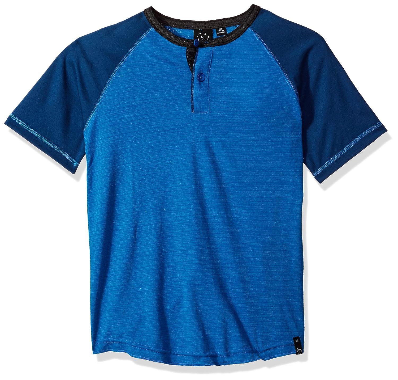 Burnside Boys' Big Mastermind Knit Henely Raglan Shirt BK7133AZ