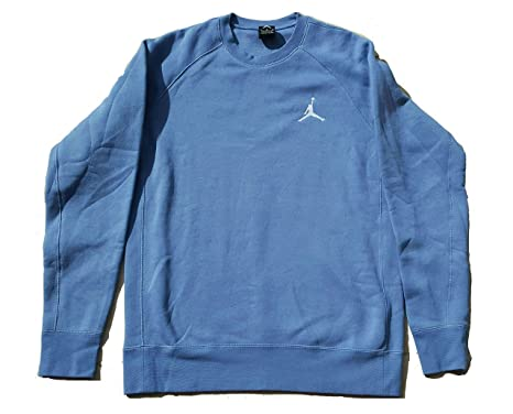 484aef02021c Image Unavailable. Image not available for. Color  Nike Men s Jordan Flight  Crew Neck Fleece Sweatshirt ...