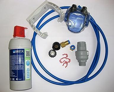 Set de conexión para dispensador de agua spaqa con parada de agua