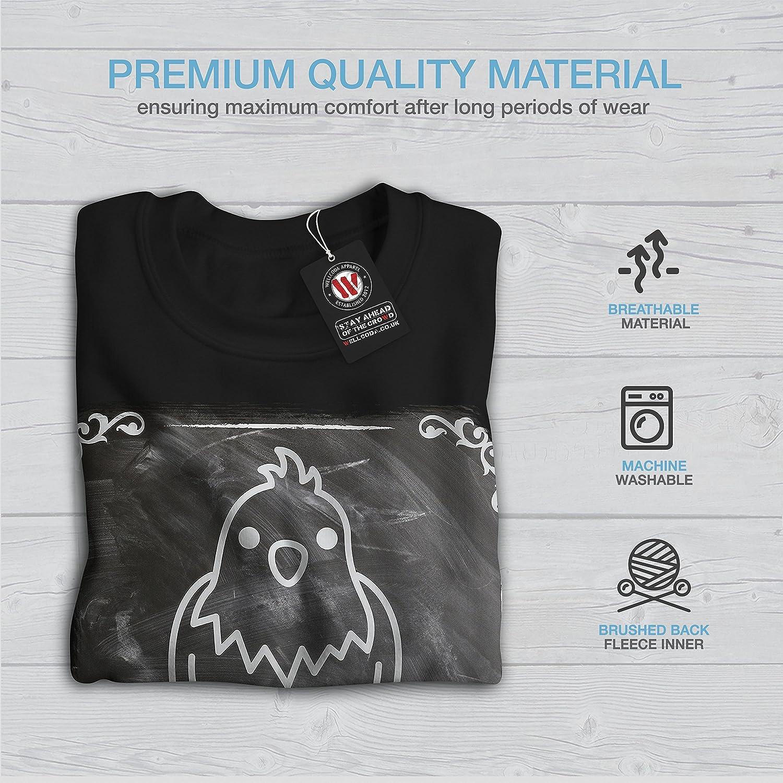 Chicken Casual Jumper wellcoda I Love My Pet Bird Mens Sweatshirt