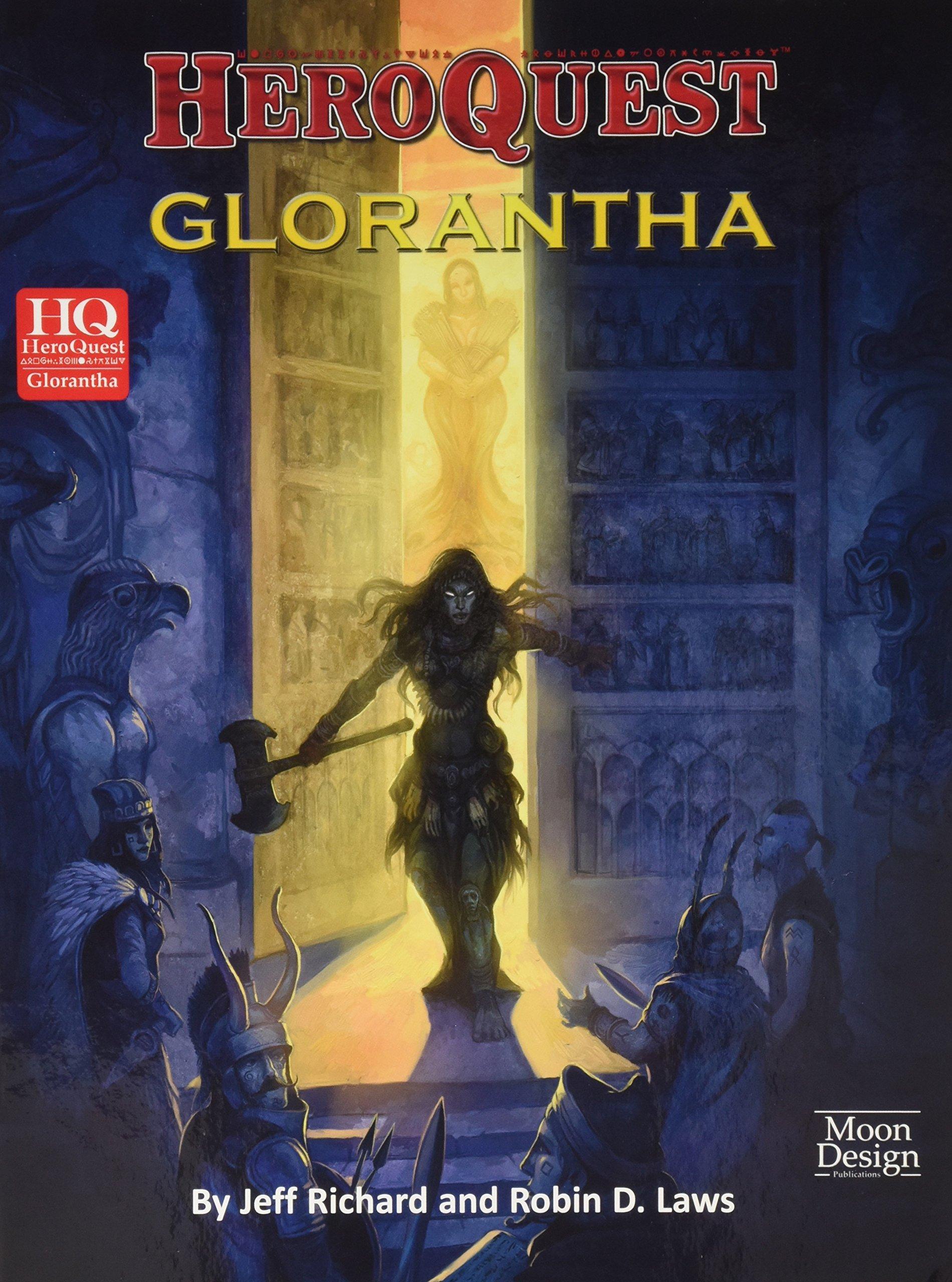 HEROQUEST GLORANTHA: Amazon.es: Richard, Jeff, Laws, Robin D.: Libros en idiomas extranjeros