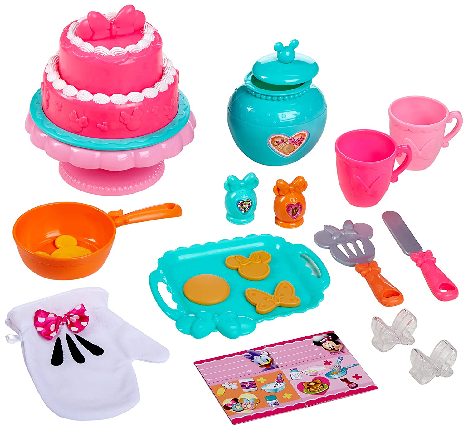 Amazon.com: Minnie JUSUB Bow-Tique Sweet Surprises Kitchen Toy: Toys ...