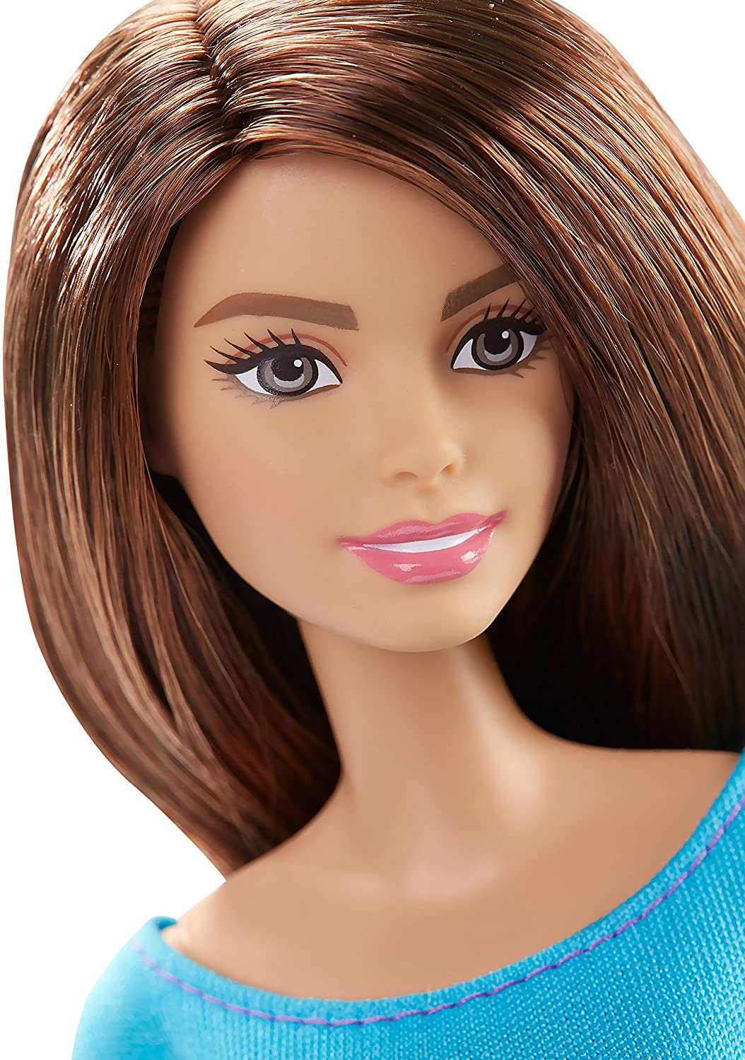 Pleasing Amazon Com Barbie Made To Move Barbie Doll Blue Top Toys Amp Games Short Hairstyles For Black Women Fulllsitofus