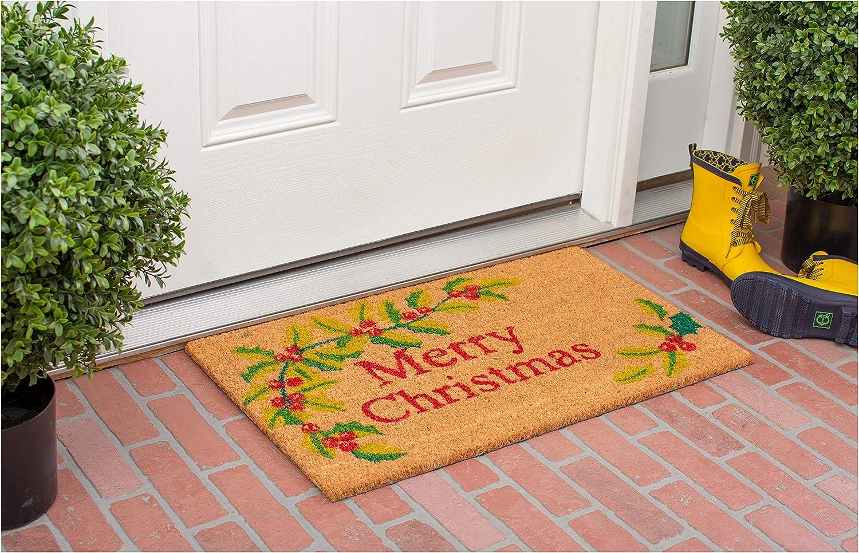 """MERRY CHRISTMAS DOOR MAT...23 1//2 X 15 x1//2/"""""""