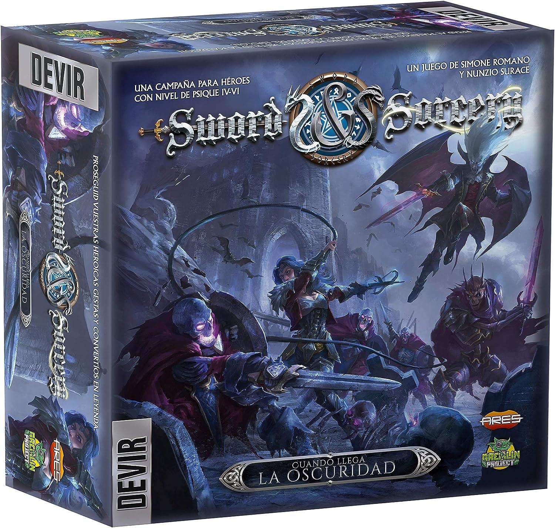 Devir-Sword & Sorcery Cuando Llega La Oscuridad (BGSISDF): Amazon.es: Juguetes y juegos