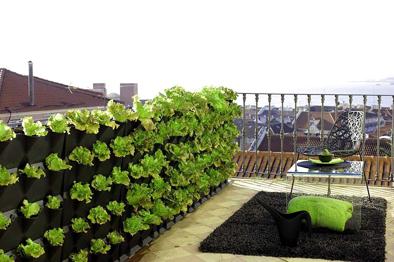 URBAN GREEN REVOLUTION Macetas Exteriores, 64 x 14 x H 57 cm ...