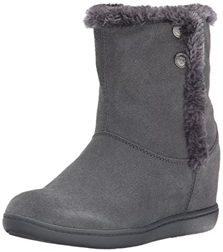 Skechers Women's Plus 3-Belay Winter Boot,Charcoal,8 ...