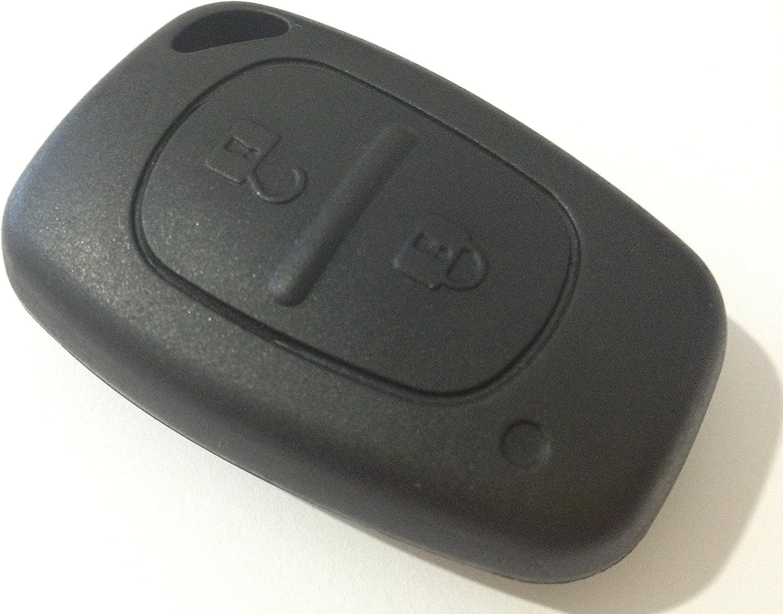 Renault Master Trafic Kangoo Clio Modus Klappeschlüssel Fernbedienung 3 Tasten