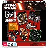 Star Wars The Force Awakens 6-in-1 Tin Board Game