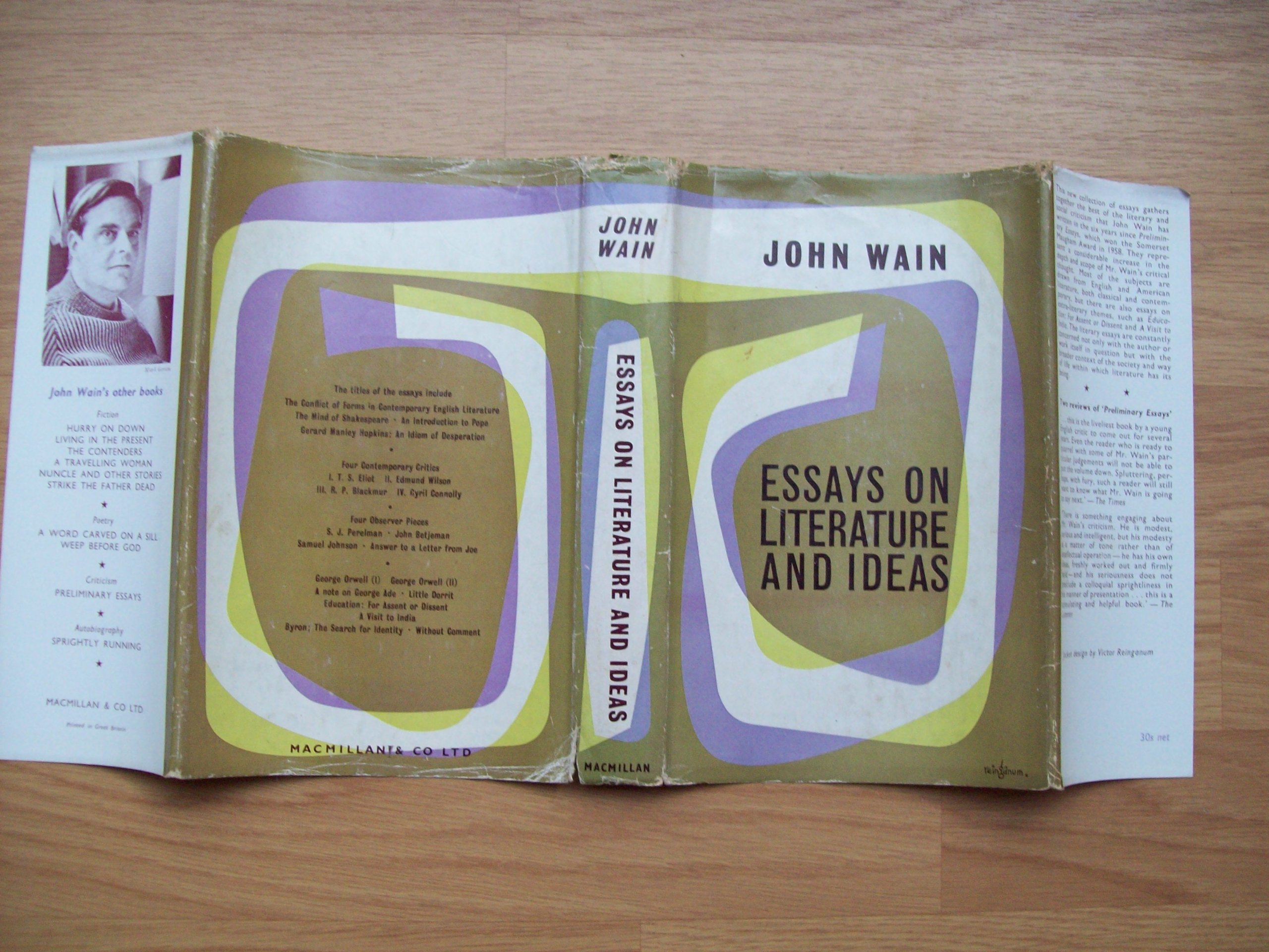 essays on literature and ideas amazon co uk john wain essays on literature and ideas amazon co uk john wain 9780333068656 books