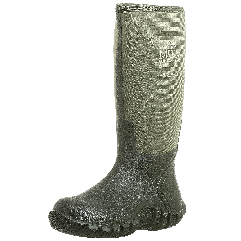 The Original MuckBoots Adult Edgewater Hi Boot B000WG4G3E Men's 7 M/Women's 8 M|Moss