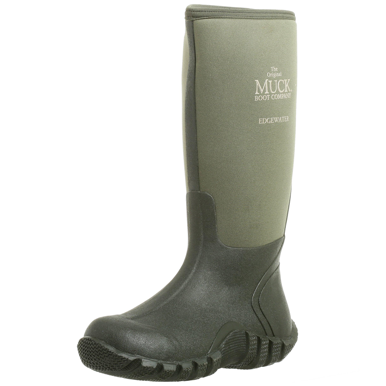 The Original MuckBoots Adult Edgewater Hi Boot,Moss,11 M US Mens/12 M US Womens