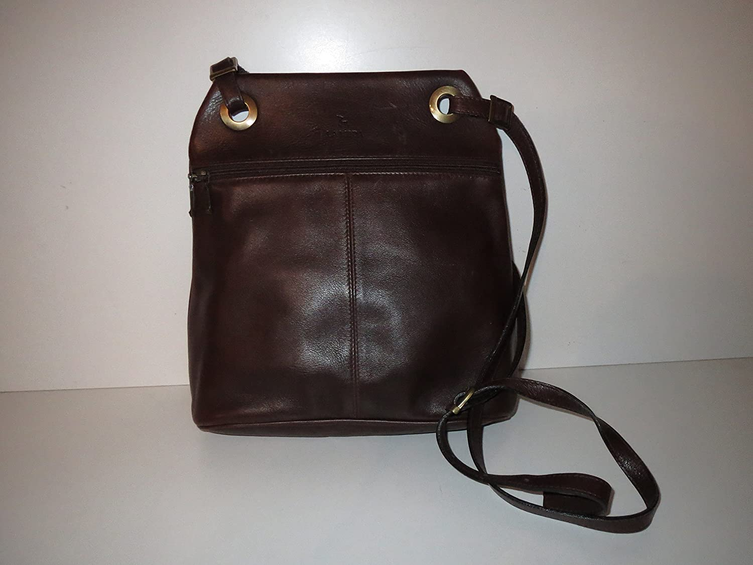 La Moda Brown Mocha Bag Shoulder Bag Leather Shoulder Bag Leather Bag   Amazon.co.uk  Luggage 9cece843c22a4