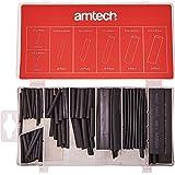 Am-Tech - Guaine termorestringenti per cavi assortite, 127 pezzi
