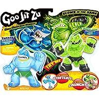 Grandi Giochi Goo Jit Zu GJT02000 Battle Pack 2 Heroes, surtidos, multicolor, 13 cm