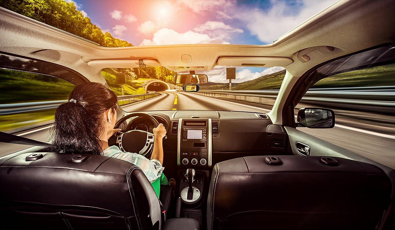 Motorola MDC50 Dash Cam Macchina fotografica dellautomobile Loop video HD 720p LCD display 2  Telecamera auto con sensore G