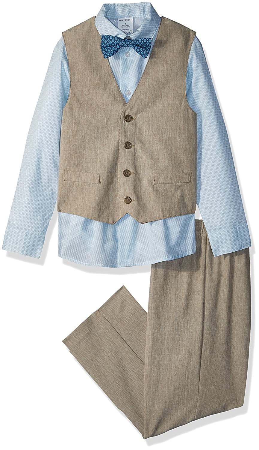 Victorian Kids Costumes & Shoes- Girls, Boys, Baby, Toddler Van Heusen Boys Little 4-Piece Formal Bow Tie Vest Set $40.50 AT vintagedancer.com