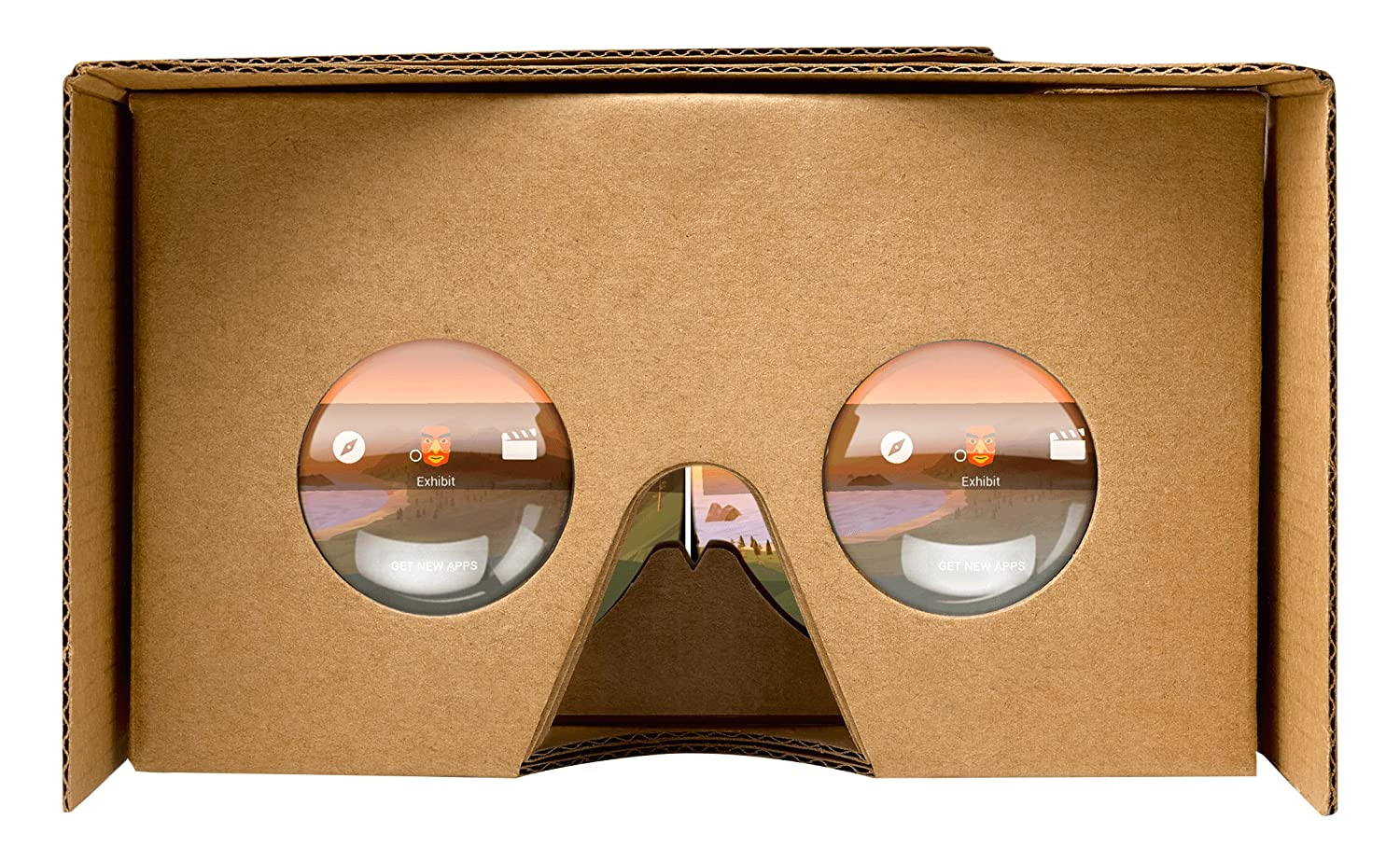 Google 87002823-01 Official Cardboard- 2 Pack, Brown TESSCO Wireless