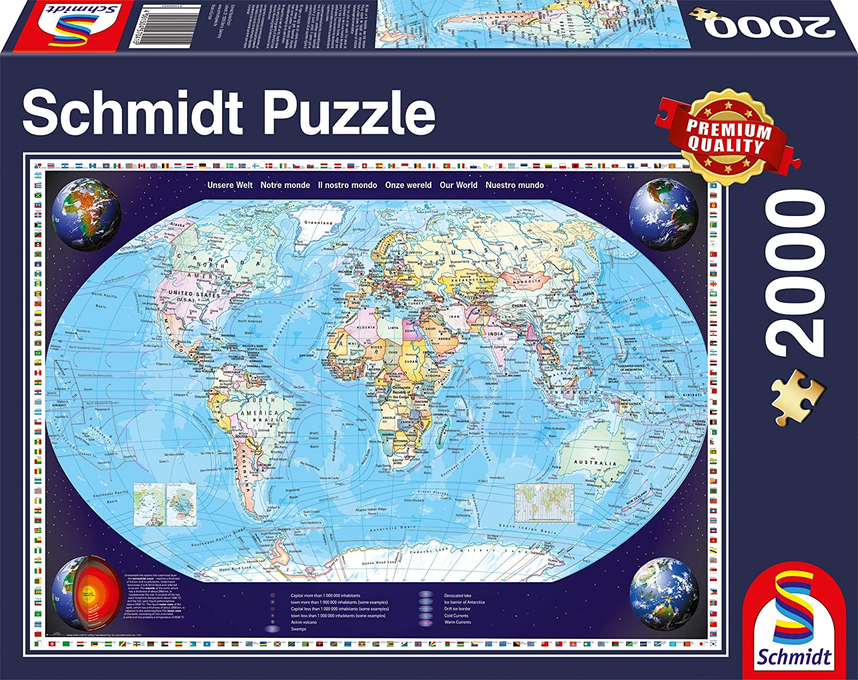 Puzzle 2000 pi/èces Travel Around The World Espagne