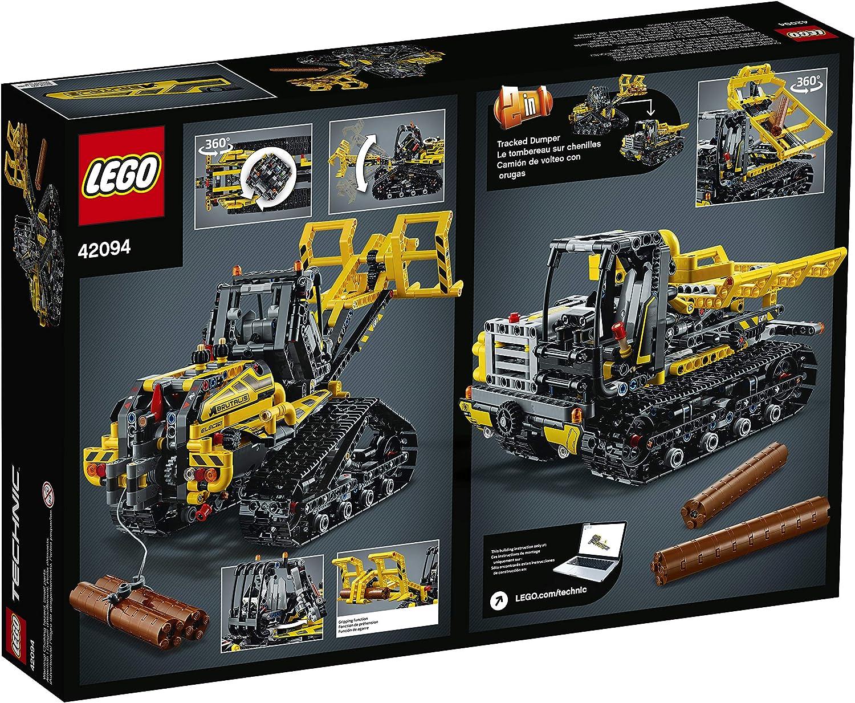 Retired Lego 42094 Technic Tracked Loader Dumper Truck Toy Building Block Set
