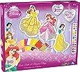Orb Factory ORB11091 - Loisirs Créatifs - Disney Princesses Ariel, Belle, Blanche Neige - Sticky Mosaiques Autocollantes aux Numéros