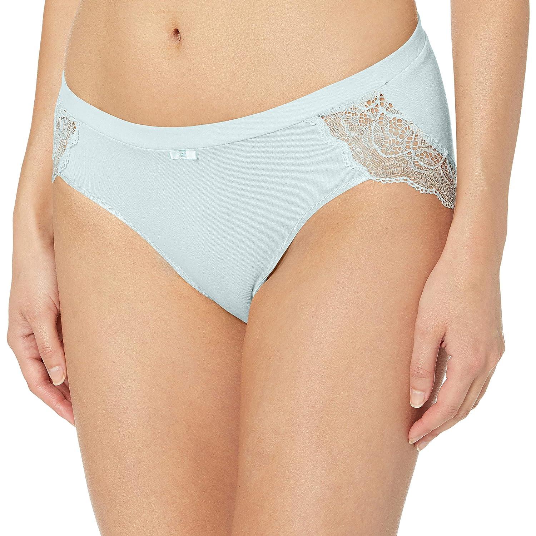 Bali Women's Cotton Desire W/Lace Hipster