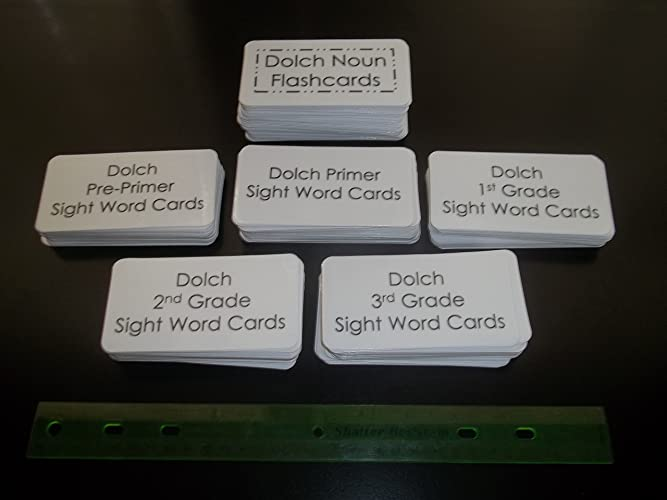 Amazon.com: The Entire Dolch Sight Word Flashcard Set. 315 ...