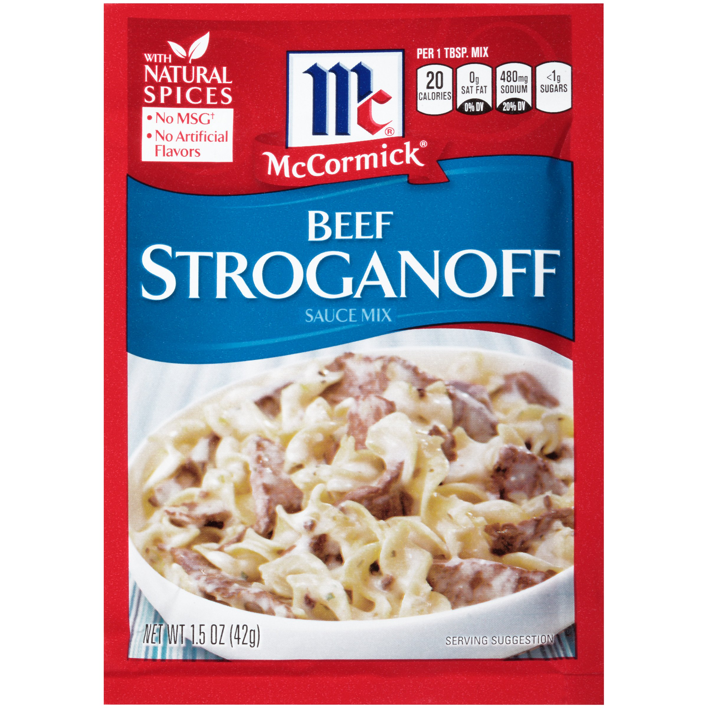 McCormick Beef Stroganoff Seasoning Mix, 1.5 oz by McCormick (Image #1)