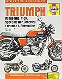 Triumph Bonneville, T100, Speedmaster, America, Thruxton & Scrambler '01 to '12 (Haynes Service & Repair Manual)