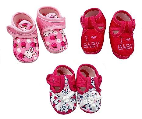 Kirit Born Baby Girl Booties 0 to 12