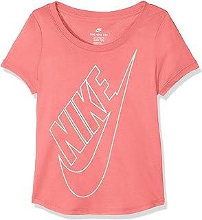 Nike Girls Sportswear T-Shirt Camiseta Deportiva, Niñas