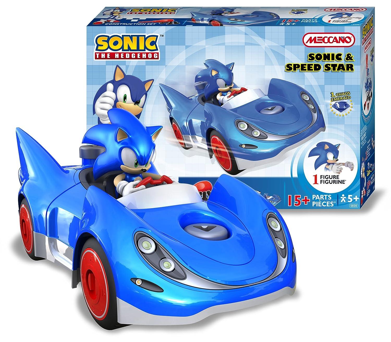 Meccano Sonic The Hedgehog Sonic and Speedstar Amazoncouk Toys