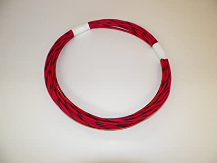 Striped Wire | Amazon Com Red Black Striped Automotive Gxl Copper Wire 16 Ga Awg