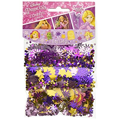 Amscan 361627 Confetti | Disney Rapunzel Dream Big Collection, Multicolor: Toys & Games